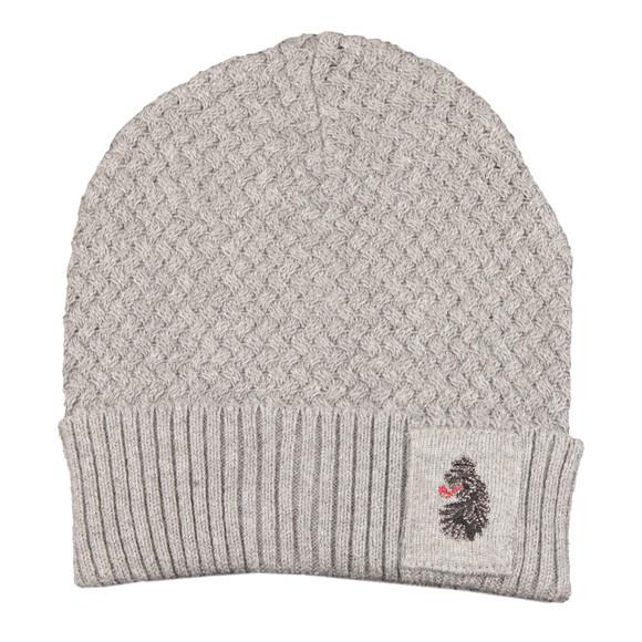 Luke Mens Grey Unbeweavable Hat And Scarf Set main image
