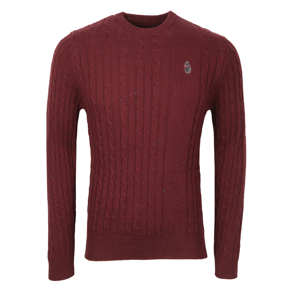 Hortons Cable Crew Neck Jumper main image
