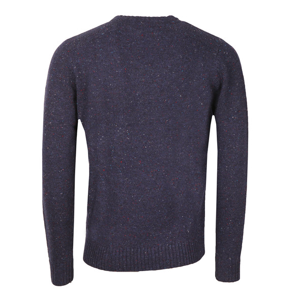 Crew Mens Blue Swithland Crew Neck Jumper main image