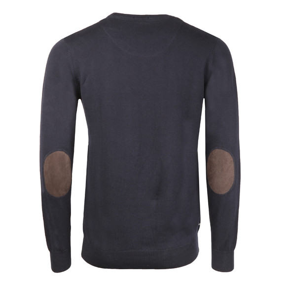 Weekend Offender Mens Blue Soar Crew Jumper main image