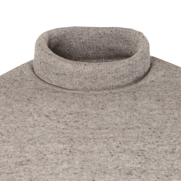 Duck & Cover Mens Grey Cast Roll Neck Jumper main image