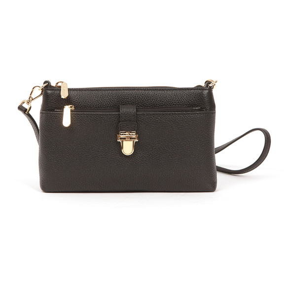 Michael Kors Womens Black Mercer Mid Snap Pocket Crossbody Bag main image