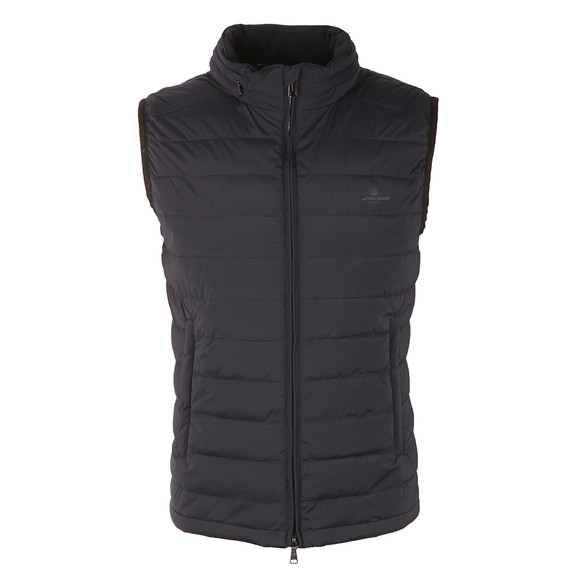 Aquascutum Mens Blue Millford Gilet With CC Lining main image