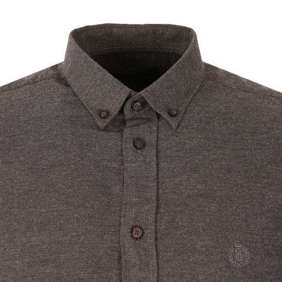 Henri Lloyd Mens Grey Northwood Fitted Shirt main image