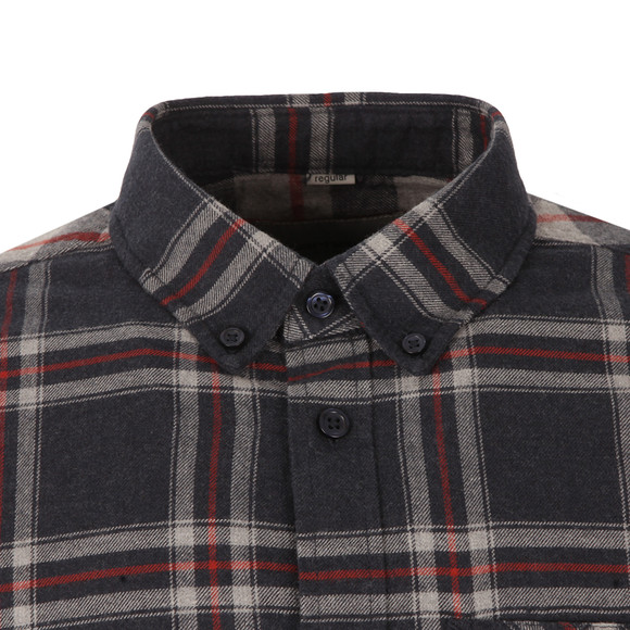 Carhartt Mens Blue Aaron Shirt main image