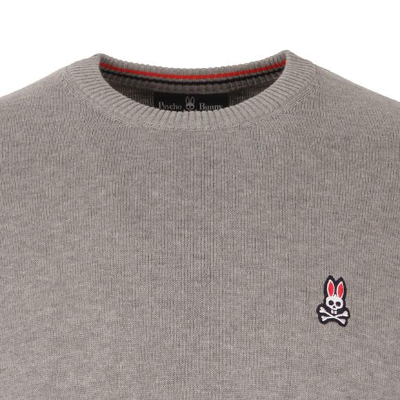 Psycho Bunny Mens Grey Crew Neck Sweater main image