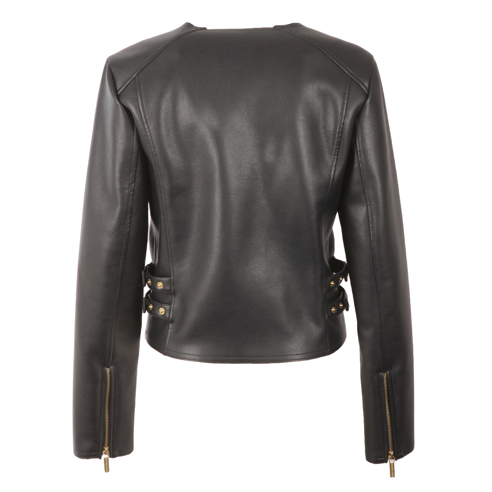 Bonded Faux Leather Jacket main image
