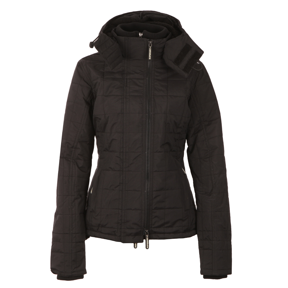 Hooded Sherpa Quilted Windcheater main image