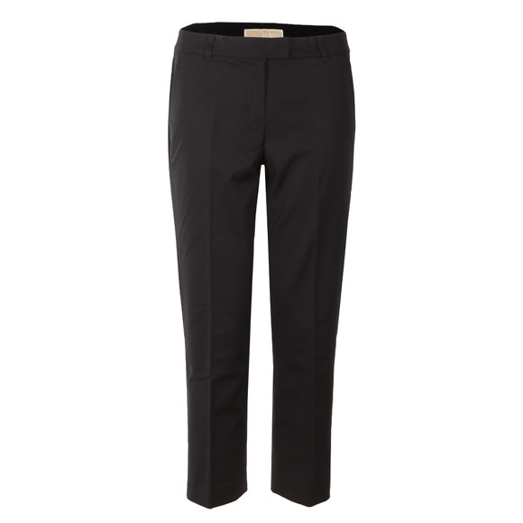 Michael Kors Womens Blue Cropped Cigarette Trouser main image