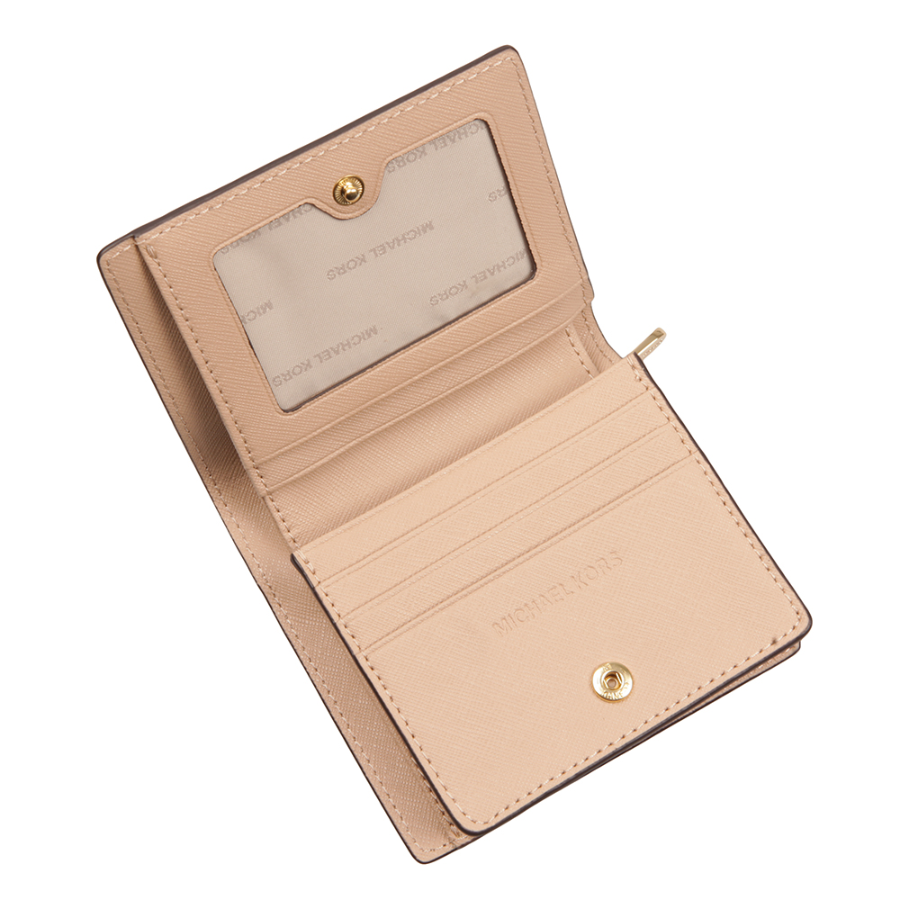 Jet Set Travel Saffiano Leather Card Case main image