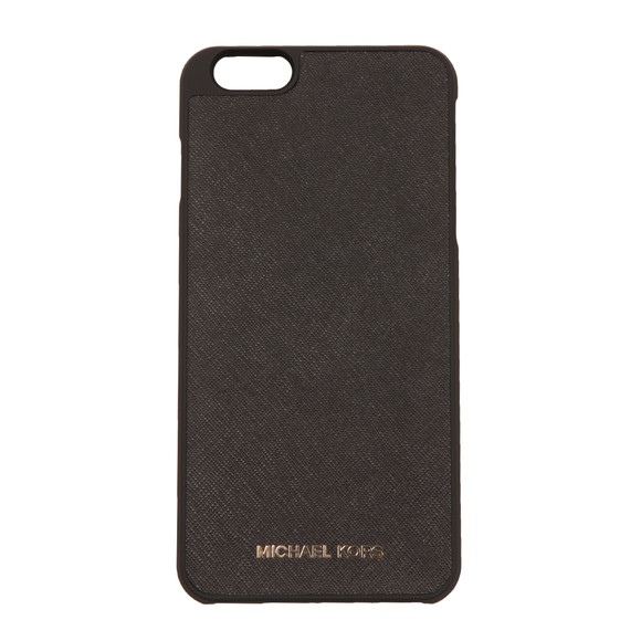 Michael Kors Womens Black Iphone 6 Plus Snap on Case main image