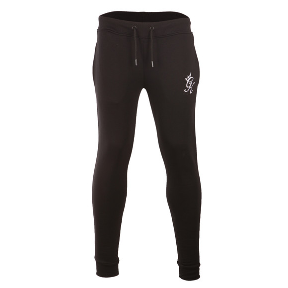 Gym king Mens Black Core Tracksuit Bottoms main image