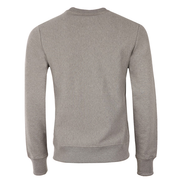 Paul Smith Mens Grey Organic Cotton Tab Logo Sweatshirt main image