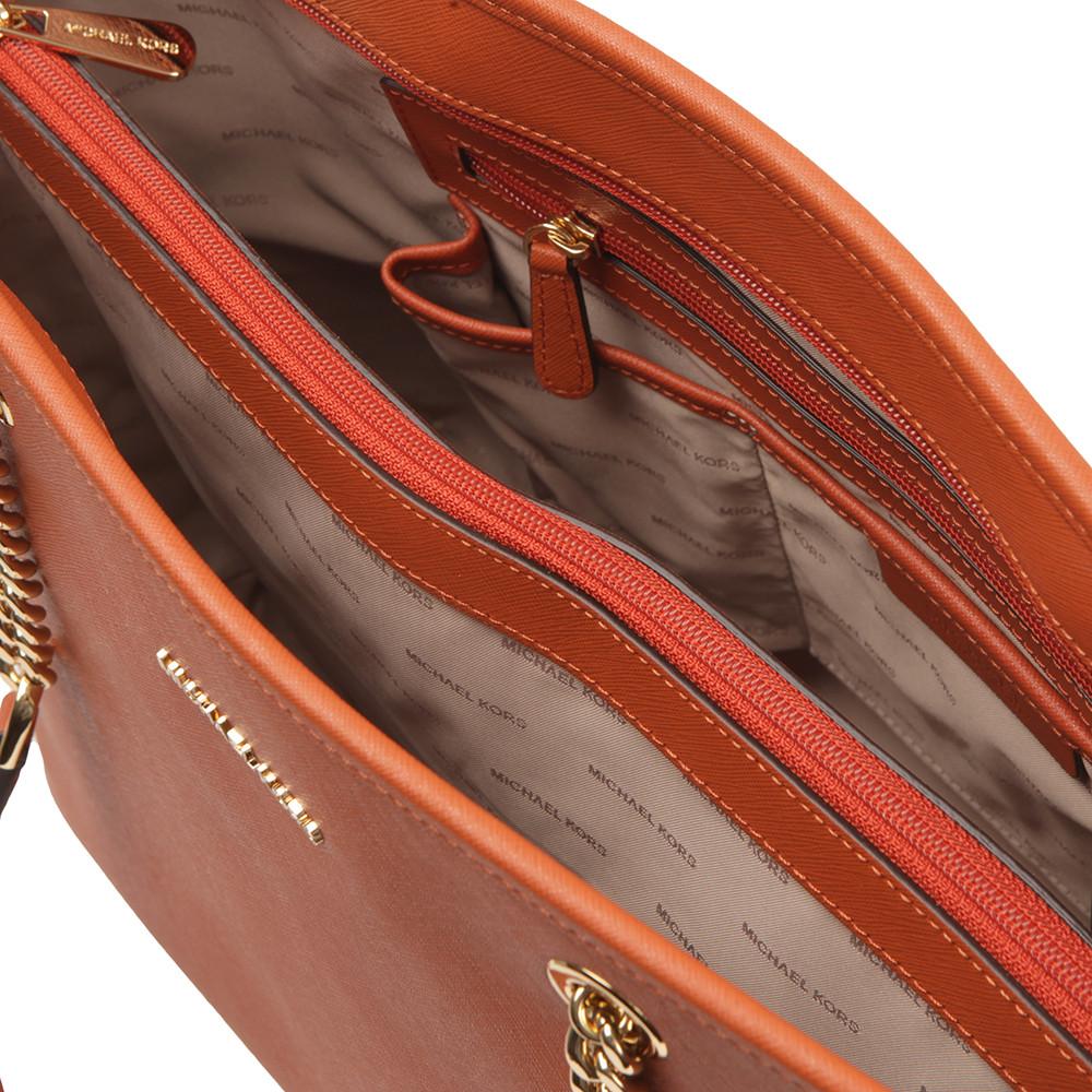 Jet Set Travel Chain Tote Bag main image