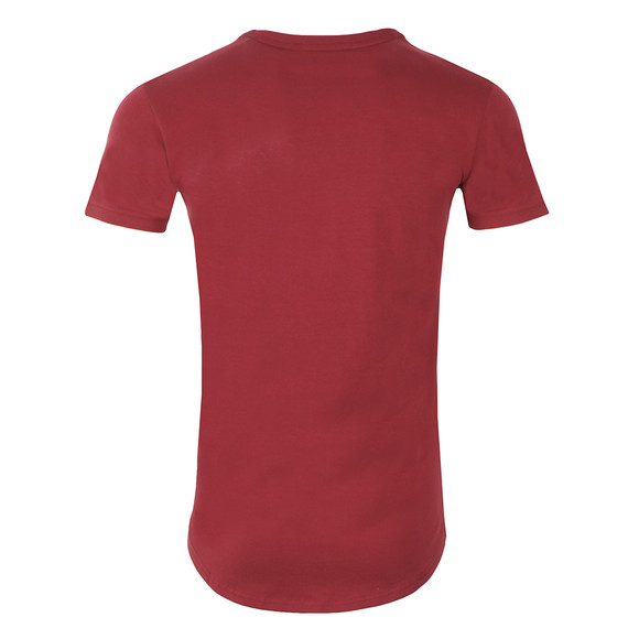 Gym king Mens Red Core Long Line Tee main image
