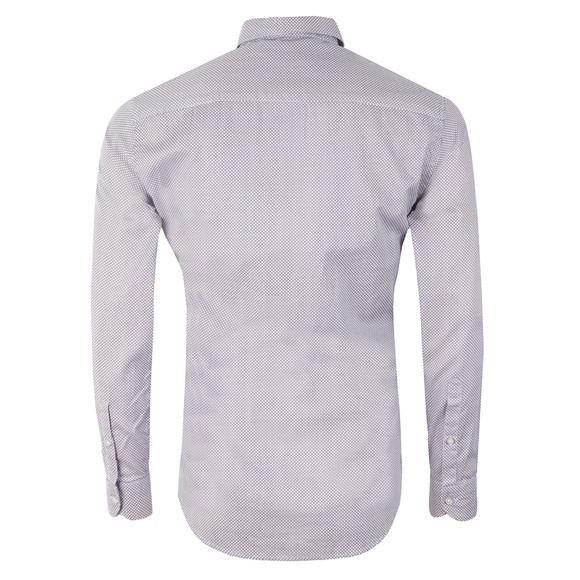 Replay Mens Blue L/S Pattern Print Shirt main image