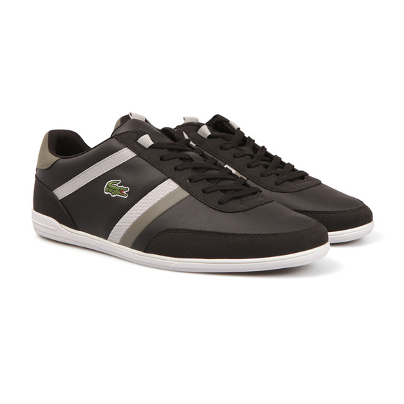 Lacoste Mens Black Giron 117 1 CAM Trainer main image