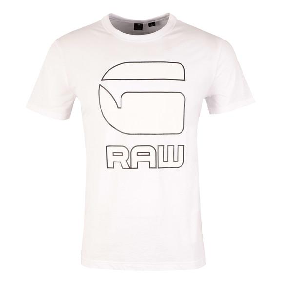 G-Star Mens White Cadulor SS T-Shirt main image