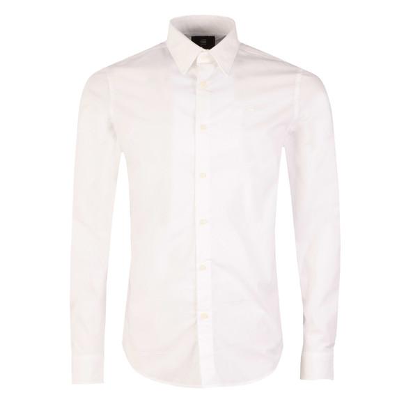 G-Star Mens White L/S Core Shirt main image