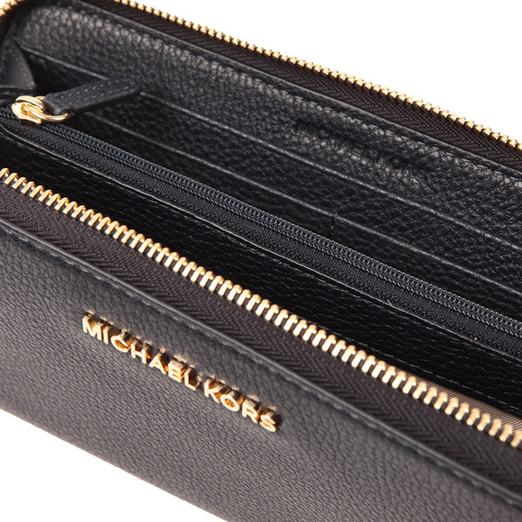 Michael Kors Womens Blue Bedford Continental Zip Purse main image