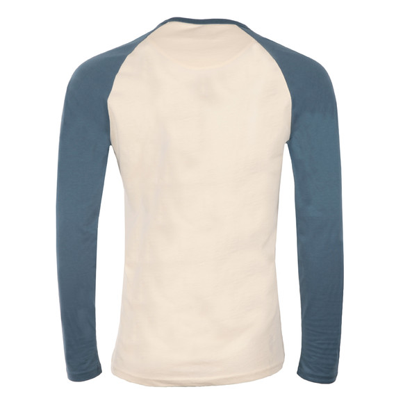 Farah Mens Blue Zemlack Raglan T-Shirt main image