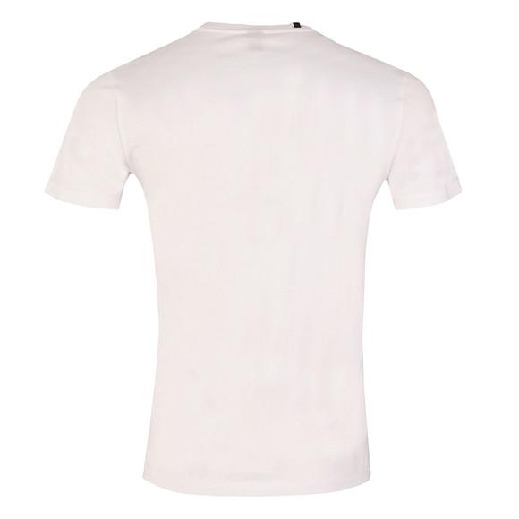Replay Mens White Printed T-Shirt main image