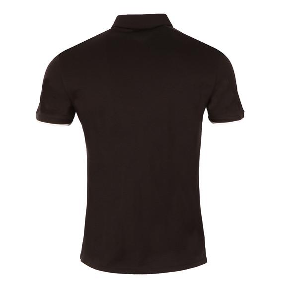 Armani Jeans Mens Black Small Logo Jersey Polo Shirt main image