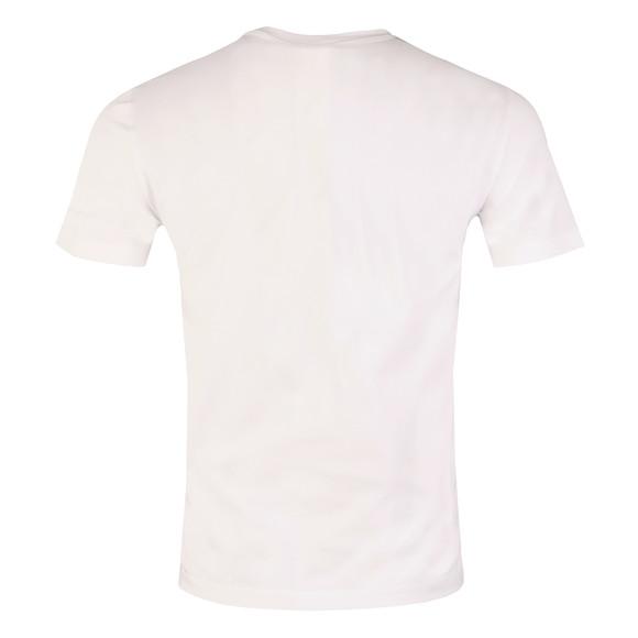 EA7 Emporio Armani Mens White Small Shield Logo T Shirt main image