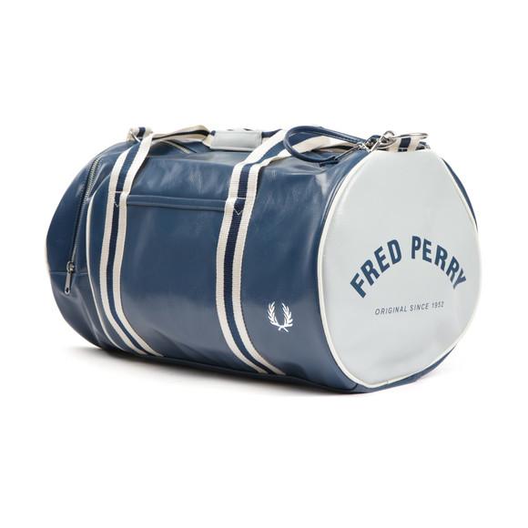 Fred Perry Sportswear Mens Blue Classic Barrel Bag main image