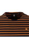 G-Star Mens Orange S/S Xartto Stripe Tee