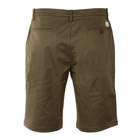 Fred Perry Mens Green Sharp Twill Short main image