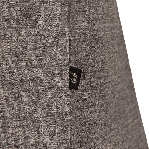 Scotch & Soda Mens Grey Cotton/Lycra Crew T Shirt main image