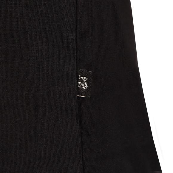 Scotch & Soda Mens Black Cotton/Lycra V Neck T-Shirt  main image