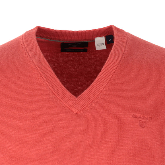 Gant Mens Red Cotton Slipover main image