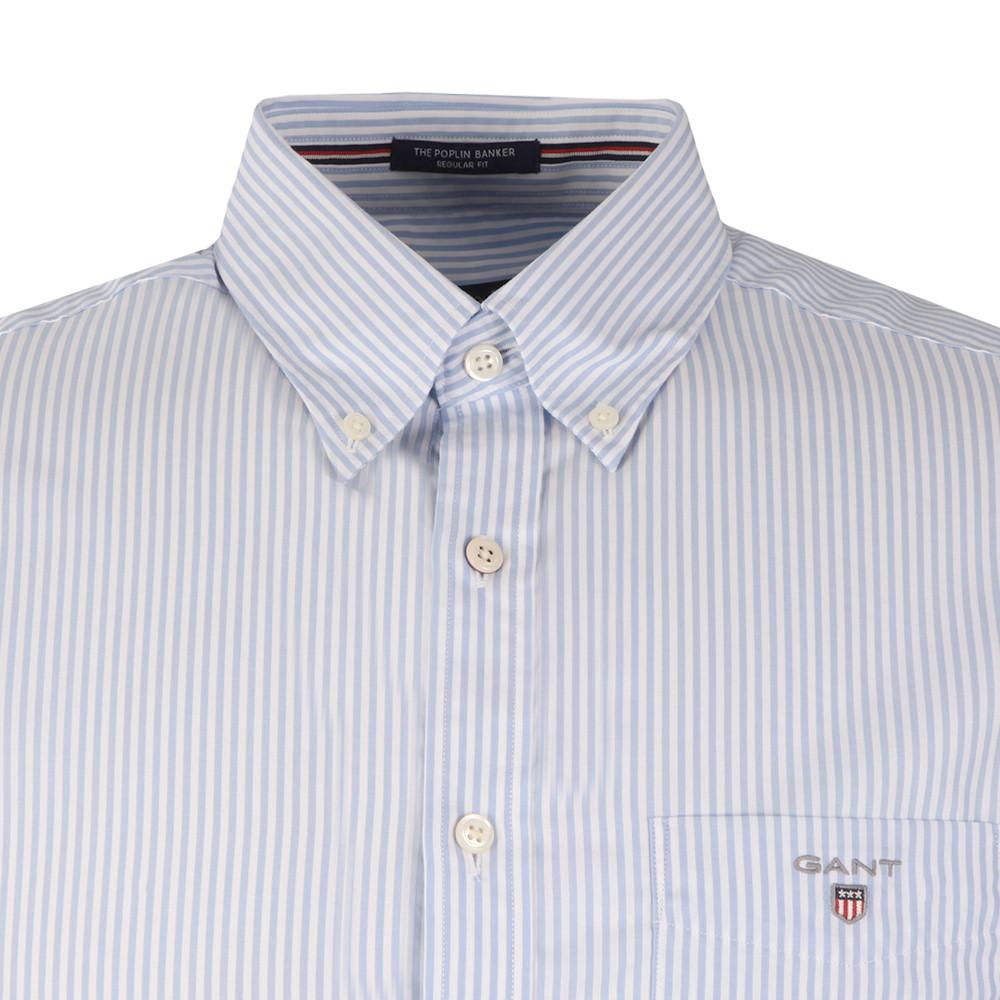 Poplin Bankers Stripe Shirt main image