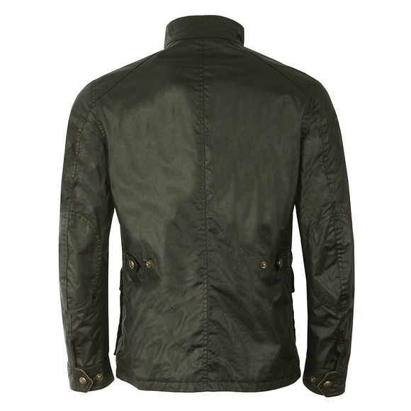 Belstaff Mens Black New Tourmaster Wax Jacket main image