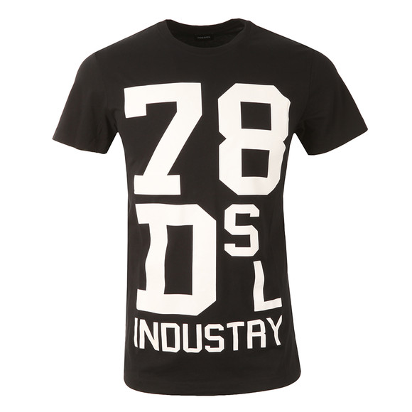 Diesel Mens Black Diego ND T Shirt main image