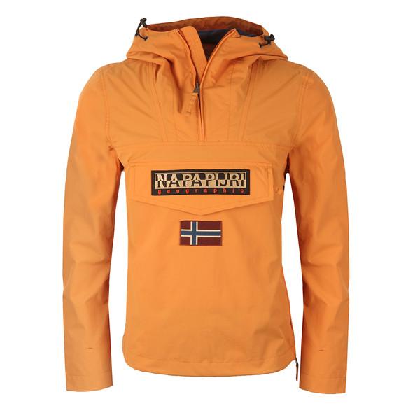 Napapijri Mens Orange Rainforest Summer Jacket main image