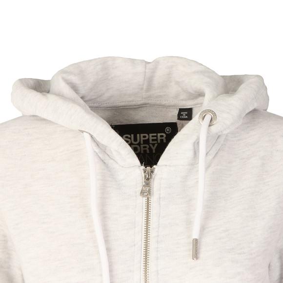 Superdry Womens Grey OL Luxe Lite Edition Zip Hoody main image