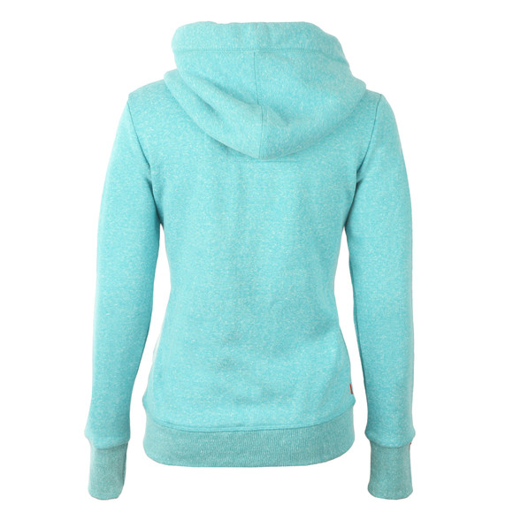 Superdry Womens Green Orange Label Primary Zip Hoody main image