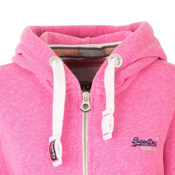 Superdry Womens Purple Orange Label Primary Zip Hoody main image