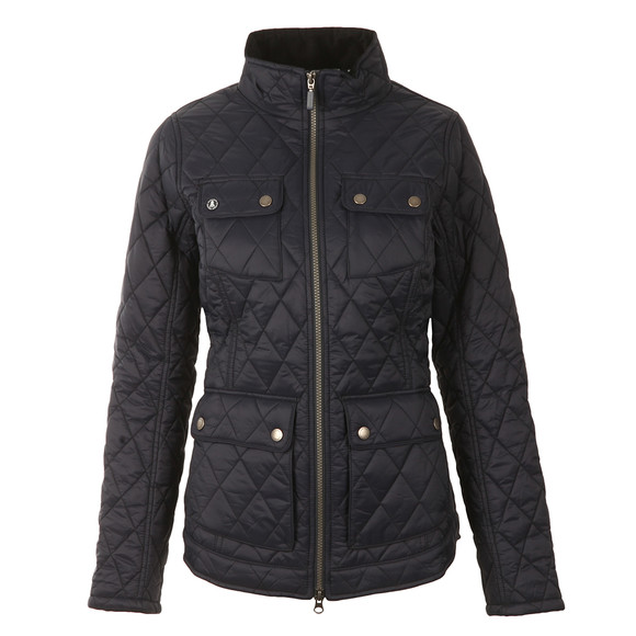 Barbour Lifestyle Womens Blue Dolostone Quilt main image