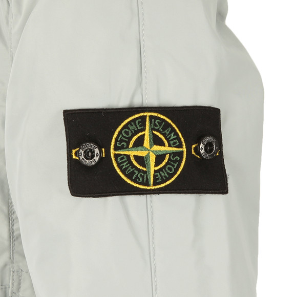 Stone Island Mens Grey Micro Reps Hooded Jacket main image