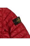 Stone Island Junior  Boys Red Micro Puffer Jacket