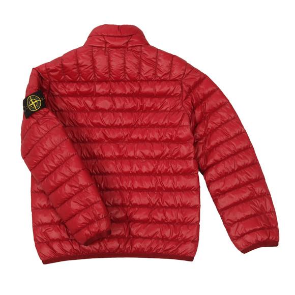 Stone Island Junior  Boys Red Micro Puffer Jacket main image