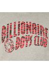 Billionaire Boys Club Mens Grey Zebra Camo Arch Logo Pop Over Hoody