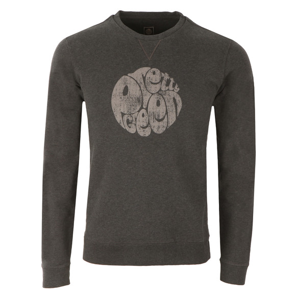 Pretty Green Mens Grey Heyland Crew Sweat main image