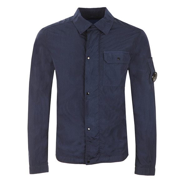 CP Company Mens Blue Nylon Overshirt main image