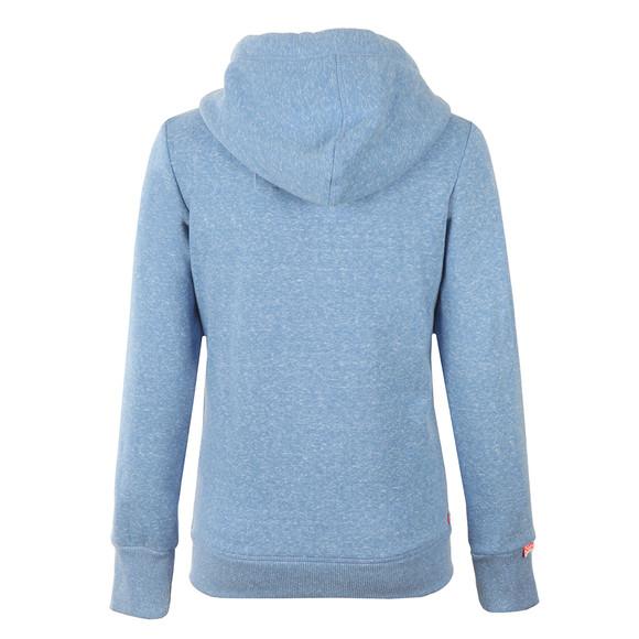 Superdry Womens Blue Orange Label Primary Zip Hoody main image