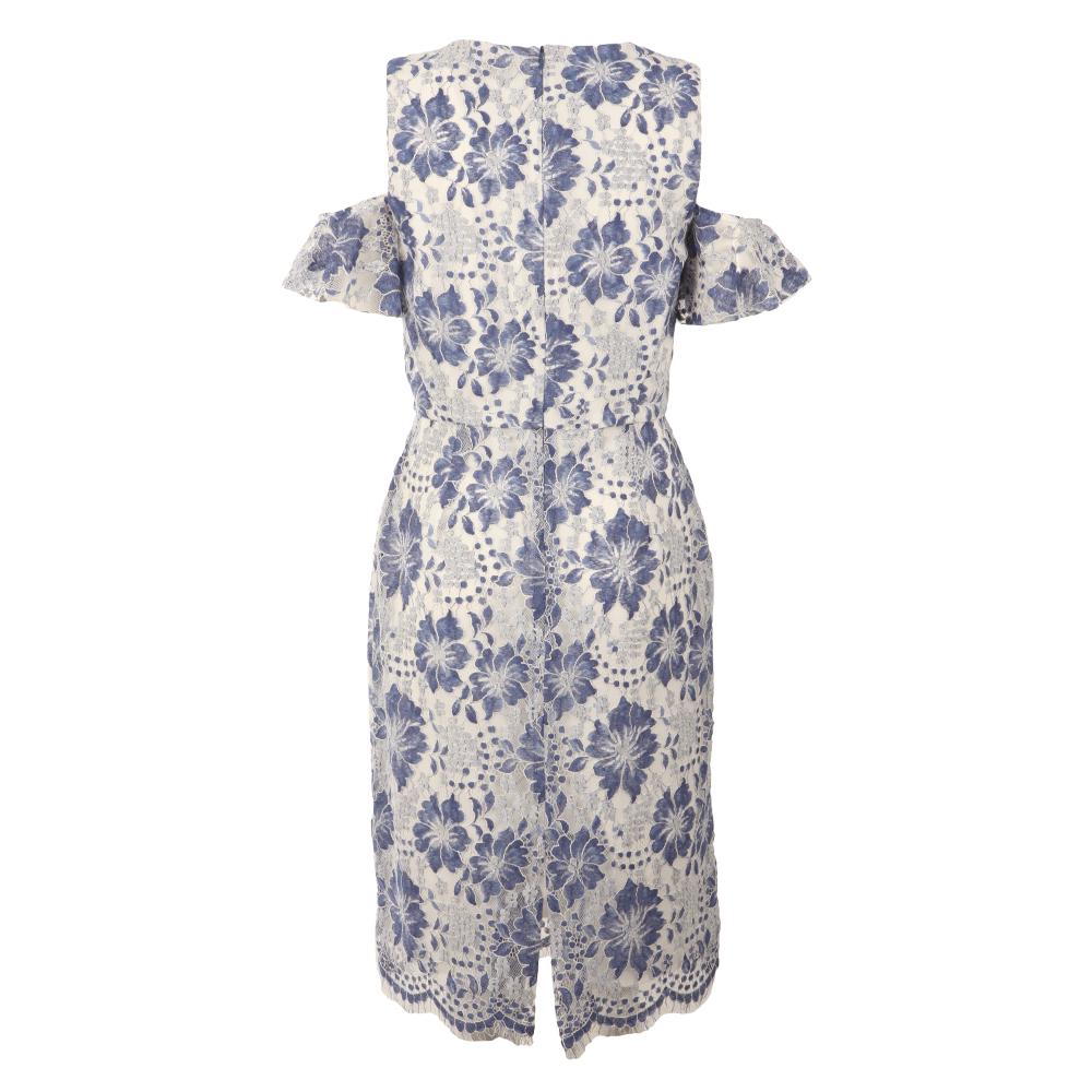 Antonia Lace Cold Shoulder Dress main image
